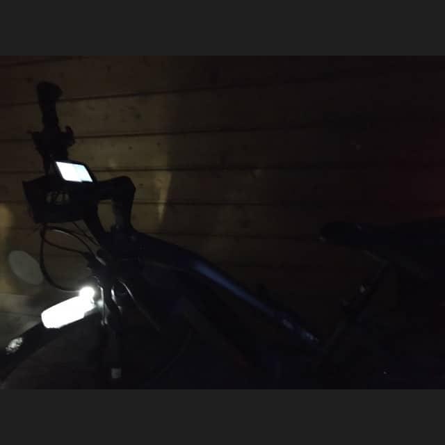 Fahrrad bei Nacht